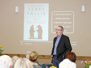 TERRY FALLIS COMES TO NORTH WORDS 2016