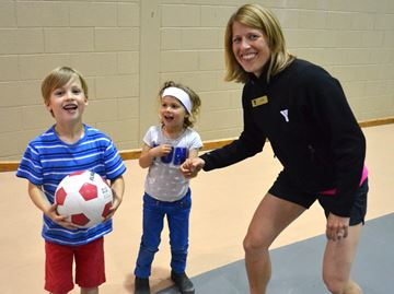 Collingwood YMCA hosts Healthy Kids Day