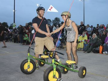Community Comes Out For Great Tricycle Race