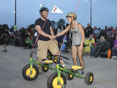 Community Comes Out For Great Tricycle Race Insidehalton Com