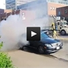 Duke Street car fire