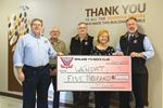 Midland Y's Men's Club donates to Wendat