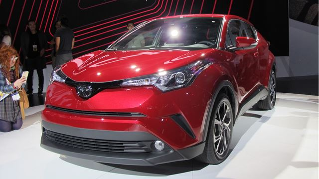 Toyota C-HR enters compact CUV segment at LA Auto Show