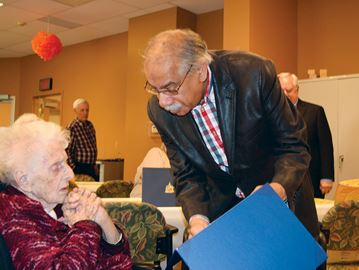 Long time Stittsville resident Melba Gallivan turns 100