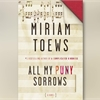 Miriam Toews wins $25,000 Rogers Writers' Trust Fiction Prize
