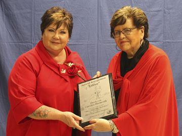 Carolyn Humenik and Barbara Martindale,