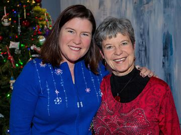 Joanna and Bonnie Jackson