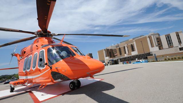 Ornge medical transportation helicopter