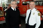 Barrie fire chief, deputy close to retirement
