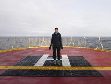 Student returns from Arctic journey