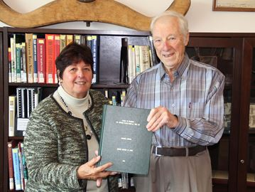 Garrad donates work to Collingwood Library