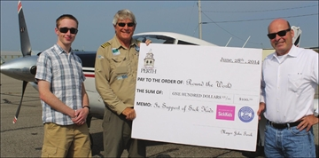 Dual health care fundraisers take mission to the skies– Image 1