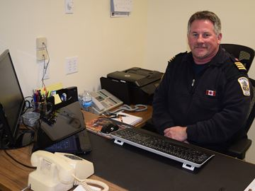 Acting chief for Merrickville Fire Department