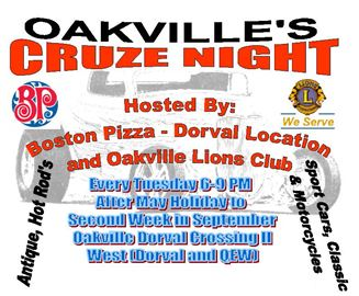 Oakville Lions' Cruze Night