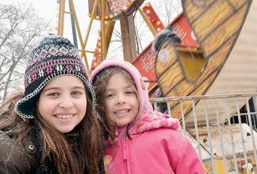 Winter carnival fans