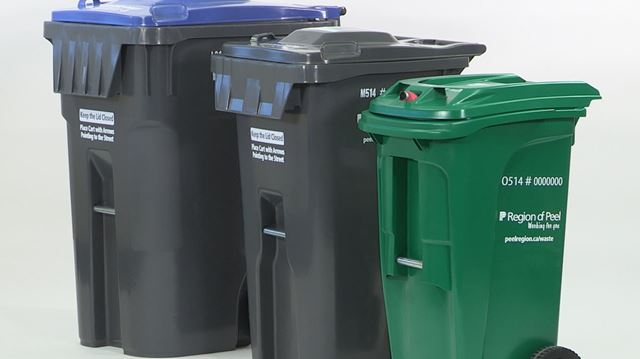 Peel Residents Can Exchange Garbage Carts For Free Throughout April Mississauga Com