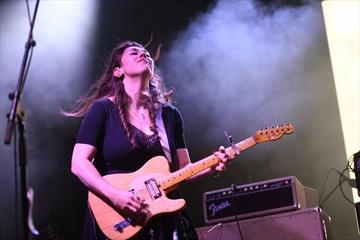 Terra Lightfoot performing at Supercrawl in September.