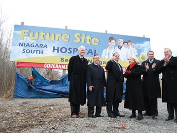 Progress being made toward new south Niagara hospital