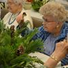 Watedown Village Manor residents craft holiday centrepieces