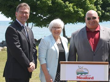 Meaford receives infrastructure funding