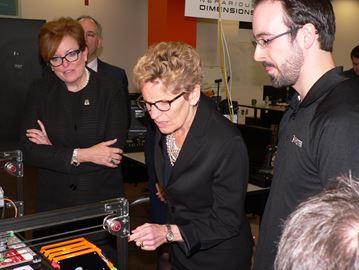 Ontario Premier Kathleen Wynne tours MIP