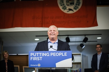 Results of the Ford government's review of regional government are coming, Caledon Mayor Allan Thompson said.