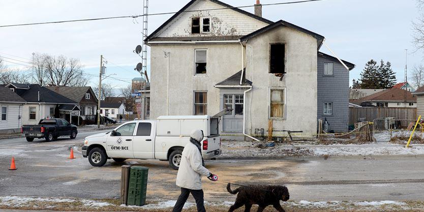 Oshawa Rooming House Fire