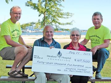 Meaford Run/Walk/Stroll raided $47,500
