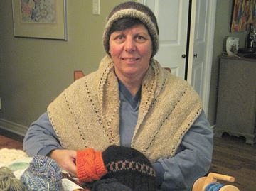 Warm creations for winter made in Lisle