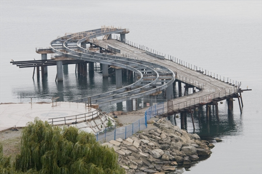 Costs piling on for burlington pier project for Dock pilings cost