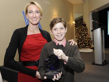 Oakville's Robbie's Rainbow shines with philanthropy award