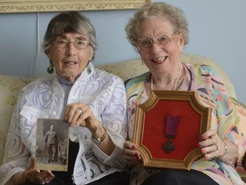 Oakville nieces proud as Valour Road hero uncle is honoured