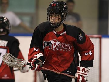 Oakville's Donville the top pick in junior A lacrosse draft