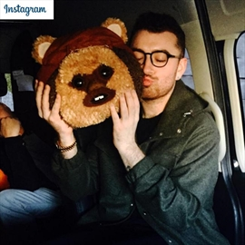 Sam Smith hasn't seen entire Star Wars series-Image1
