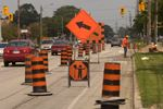 Portion of Lakeshore Road along Beachway closing for road reconstruction