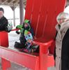 Meaford's Big Red Chair tour wins provincial award