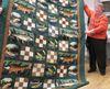 Betty Hudson's fish quilt