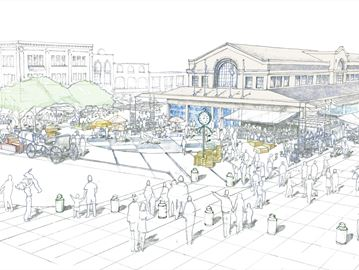 George Street Plaza concept