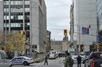 War Memorial shooting leaves soldier dead
