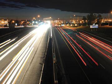 Hwy 401 lights