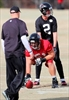 Falcons WR Julio Jones misses practice with toe injury-Image1