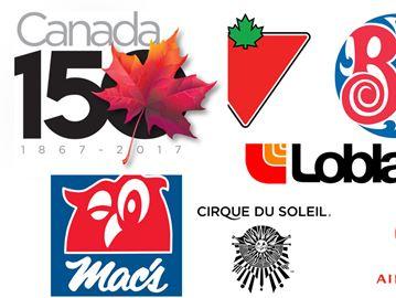 Canada 150: Canadian companies logos