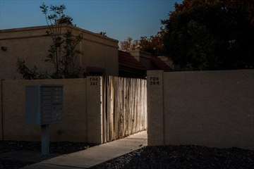 The site where Joseph Knight was shot last year in Avondale, a Phoenix suburb, April 11, 2019. Google records people's locations worldwide. Now, investigators are using it to find suspects and witnesses near crimes, running the risk of snaring the innocent.