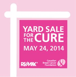 Yard Sale for the Cure