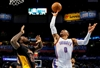 Westbrook's triple-double leads Thunder past Lakers, 110-93-Image1