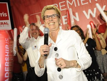 Watch for one-on-one interview with Wynne