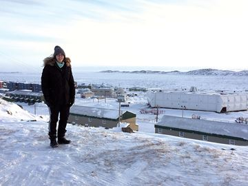 Aliya Kooistra recently returned from her second trip to Iqaluit to attend Global Vision's Arctic Youth Ambassador Caucus.