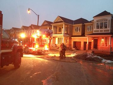 Fire on Allegro Dr.