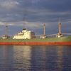 Mid-voyage wheat fire guts shipping vessel