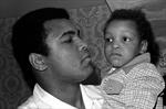 Muhammad Ali and son
